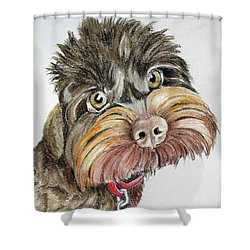 Maisie Moo Shower Curtain