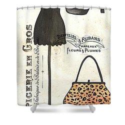 Maison De Mode 1 Shower Curtain by Debbie DeWitt