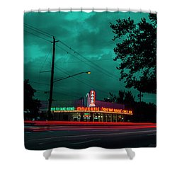Majestic Cafe Shower Curtain