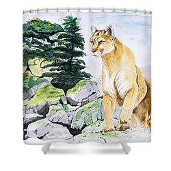 Majestic Domain Shower Curtain