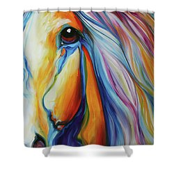 Majestic Equine 2016 Shower Curtain