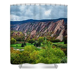 Majestic Foothills Shower Curtain