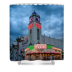 Majestic Fox Theater Tribute Merle Haggard Shower Curtain