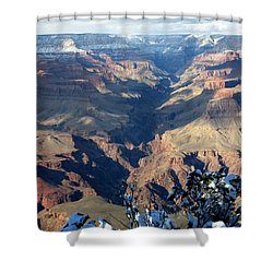 Majestic Grand Canyon Shower Curtain by Laurel Powell
