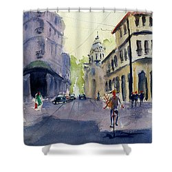 Majestic Hotel, Saigon1 Shower Curtain