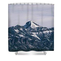 Majestic Morning On Pagosa Peak Shower Curtain