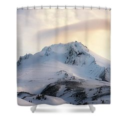 Shower Curtain featuring the photograph Majestic Mt. Hood by Ryan Manuel
