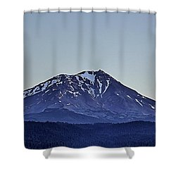 Majestic Mt Shasta Shower Curtain