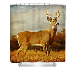 Majestic Pose Shower Curtain