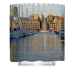 Majestic Vieux Port Shower Curtain