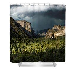 Majestic Yosemite National Park Shower Curtain