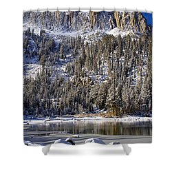Majestically Cool Shower Curtain by Chris Brannen