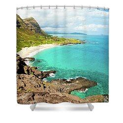 Makapu'u Beach Shower Curtain