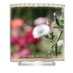 Make A Wish... Shower Curtain