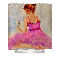 Make A Wish..16 Shower Curtain by Cristina Mihailescu