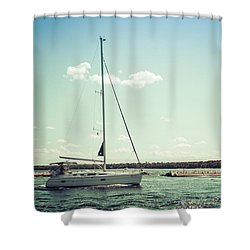 Shower Curtain featuring the photograph Make Headway by Joel Witmeyer