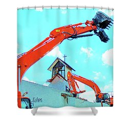 Make Way For Commerce Shower Curtain