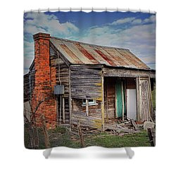 Shower Curtain featuring the photograph Make Yourself At Home by Wallaroo Images