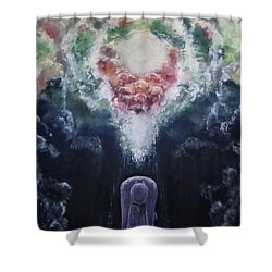 Making Angels Shower Curtain