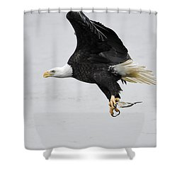 Making The Get Away Shower Curtain