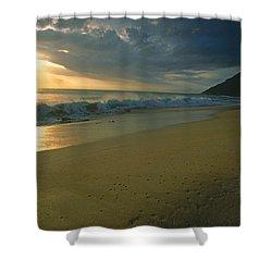 Makua Beach, Oahu, Hawaii Shower Curtain