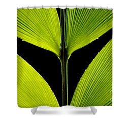 Malachite Flute Shower Curtain