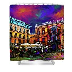 Malaga, Spain Shower Curtain