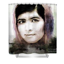 Malala Yousaf Zai 10 Shower Curtain