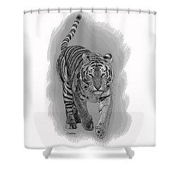 Malaysian Tiger Shower Curtain