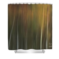 Malbourn Pond Pan Shower Curtain