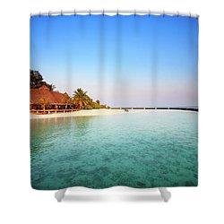 Maldives Morning Shower Curtain