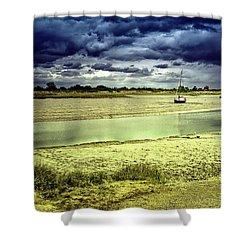 Maldon Estuary Towards The Sea Shower Curtain