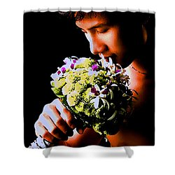 Male  Nude -  No.  190 Shower Curtain