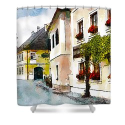 Malerische Shower Curtain