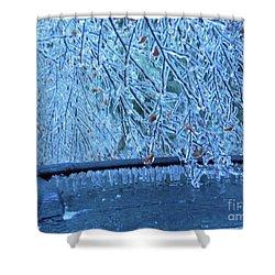 Malibu Icicles Shower Curtain