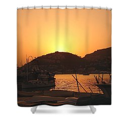 Mallorca 1 Shower Curtain by Ana Maria Edulescu