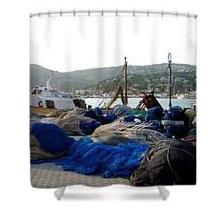 Mallorca 2 Shower Curtain by Ana Maria Edulescu