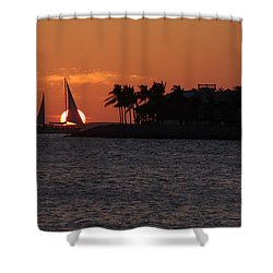 Mallory Square Sunset 2018 Shower Curtain