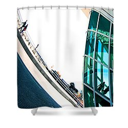 Mam Curved Shower Curtain