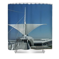 Mam Series 4 Shower Curtain by Anita Burgermeister