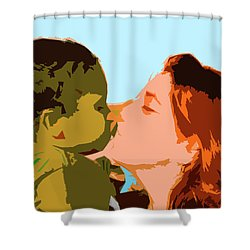 Mama And Me Shower Curtain