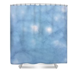 Mammatus Clouds Forming Shower Curtain by Angela A Stanton