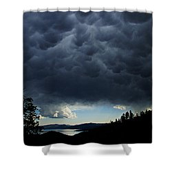 Mammatus Shower Curtain