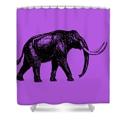 Mammoth Tee Shower Curtain