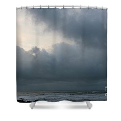 Shower Curtain featuring the photograph Man And Nature by Jeanette French
