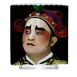 Man Of Colour Shower Curtain