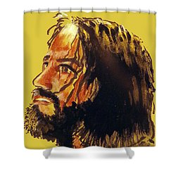 Man Of Sorrows Shower Curtain