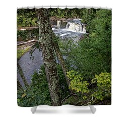 Manabezho Falls Shower Curtain