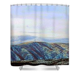 Manastash Morning Dusting Shower Curtain