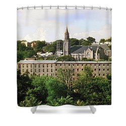 Manayunk Shower Curtain by Bill Cannon